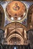 Intérieur de l'église de la tombe sainte photographie stock libre de droits