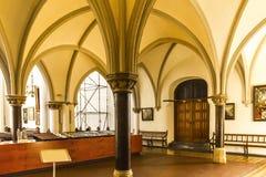 Intérieur de l'église de St Mary Images stock