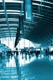 Intérieur de l'aéroport Images stock