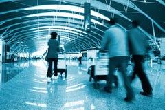 Intérieur de l'aéroport Photographie stock