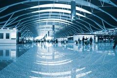 Intérieur de l'aéroport Images libres de droits