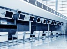 Intérieur de l'aéroport de Changhaï Pudong, Photographie stock libre de droits