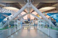 Intérieur de l'aéroport international de Kansai à Osaka Image stock
