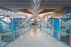 Intérieur de l'aéroport international de Kansai à Osaka Photo libre de droits