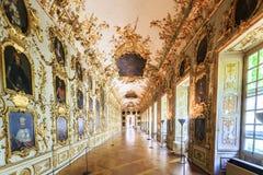 Intérieur de l'Antiquarium dans la résidence de Munich à Munich, G photo libre de droits