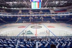 Intérieur de l'arène VTB de glace Photo libre de droits