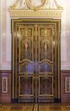 Intérieur de l'ermitage d'état, d'un Musée d'Art et de culture dans le St Petersbourg, Russie Photos libres de droits