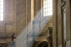 Intérieur de la basilique de Peter de saint à Vatican Photos stock