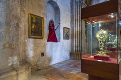 Intérieur de la basilique de San Francisco dans Habana, Cuba Images libres de droits