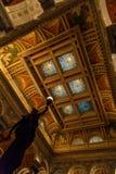 Intérieur de la Bibliothèque du Congrès dans le Washington DC images stock