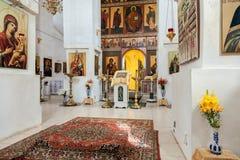 Intérieur de la cathédrale Photo stock