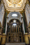 Intérieur de la cathédrale de Cuenca, Capilla del Pilar, central Photos libres de droits