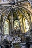 Intérieur de la cathédrale de Cuenca, de coordonnée de Major Chapel ou de H Images stock