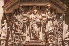 Intérieur de la cathédrale de Magdebourg, Magdebourg, Allemagne image libre de droits