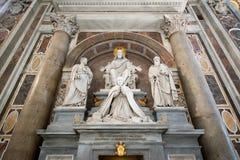 Intérieur de la cathédrale de Peter de saint à Vatican Photographie stock libre de droits