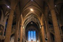 Intérieur de la chaise de Notre-Dame images stock