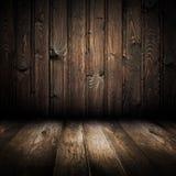 Intérieur de la maison en bois illustration de vecteur