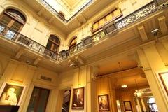 Intérieur de la maison Rosada photo libre de droits