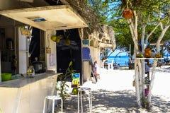 Intérieur de la plage House Image stock