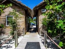 Intérieur de la plage House Image libre de droits