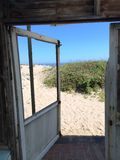 Intérieur de la plage House photos stock