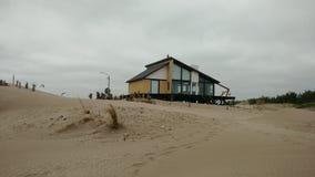 Intérieur de la plage House Photo stock