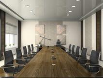 Intérieur de la salle de conférences Image libre de droits