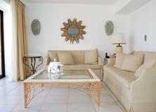 Intérieur de la villa de luxe image libre de droits