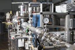 Intérieur de laboratoire nucléaire images stock