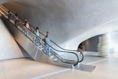 Intérieur de large Art Museum contemporain Photo stock