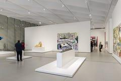 Intérieur de large Art Museum contemporain Photo libre de droits