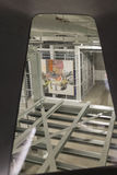 Intérieur de large Art Museum contemporain images libres de droits