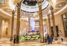 Intérieur de Las Vegas - de Palazzo Photo libre de droits