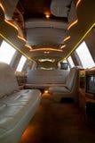 Intérieur de limousine image stock