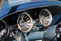 Intérieur de luxe américain classique de voiture de sport Images stock