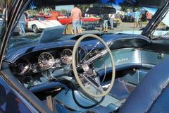 Intérieur de luxe américain classique de voiture de sport Photo libre de droits