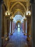 Intérieur de luxe de palais de conte de fées Photo libre de droits