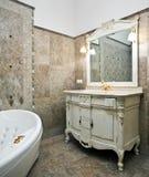 Intérieur de luxe de salle de bains Image stock