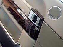 Intérieur de luxe de SUV photos libres de droits