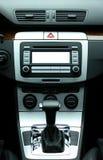 Intérieur de luxe moderne de véhicule Image stock