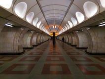 Intérieur de métro de Prague images stock