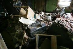 Intérieur de ma maison de la Nouvelle-Orléans Images libres de droits