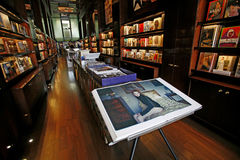Intérieur de magasin de TASCHEN à Los Angeles Image libre de droits