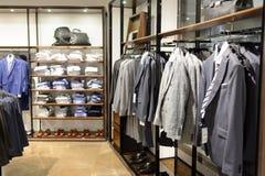 Intérieur de magasin de Zara Image stock