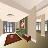 intérieur de maison Photo libre de droits