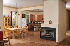 intérieur de maison Image libre de droits