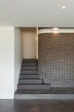 Intérieur de maison, escalier Images stock