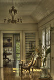 Intérieur de maison historique Photo stock