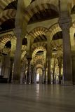 Intérieur de Mezquita Photos stock