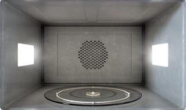 Intérieur de micro-onde illustration de vecteur